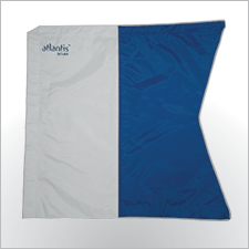 wire reinforced dive flag.60x60cm