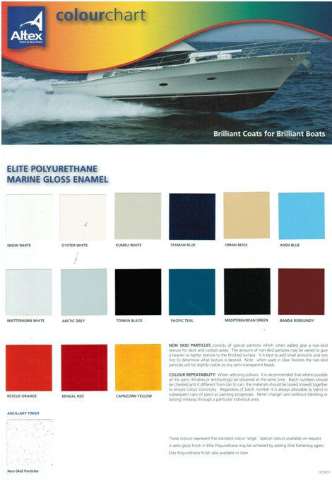 Altex Regatta Gloss Enamel Group 3 Colours 3550nzd Discount