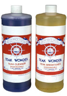 Teak Cleaners and Oils
