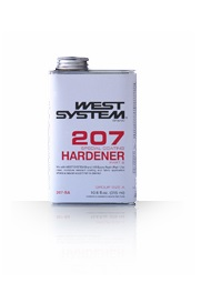 West Systems Epoxy Hardener 207 (Special clear hardener)