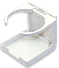 HUTCHWILCO Fold-Out Drink Holder - White